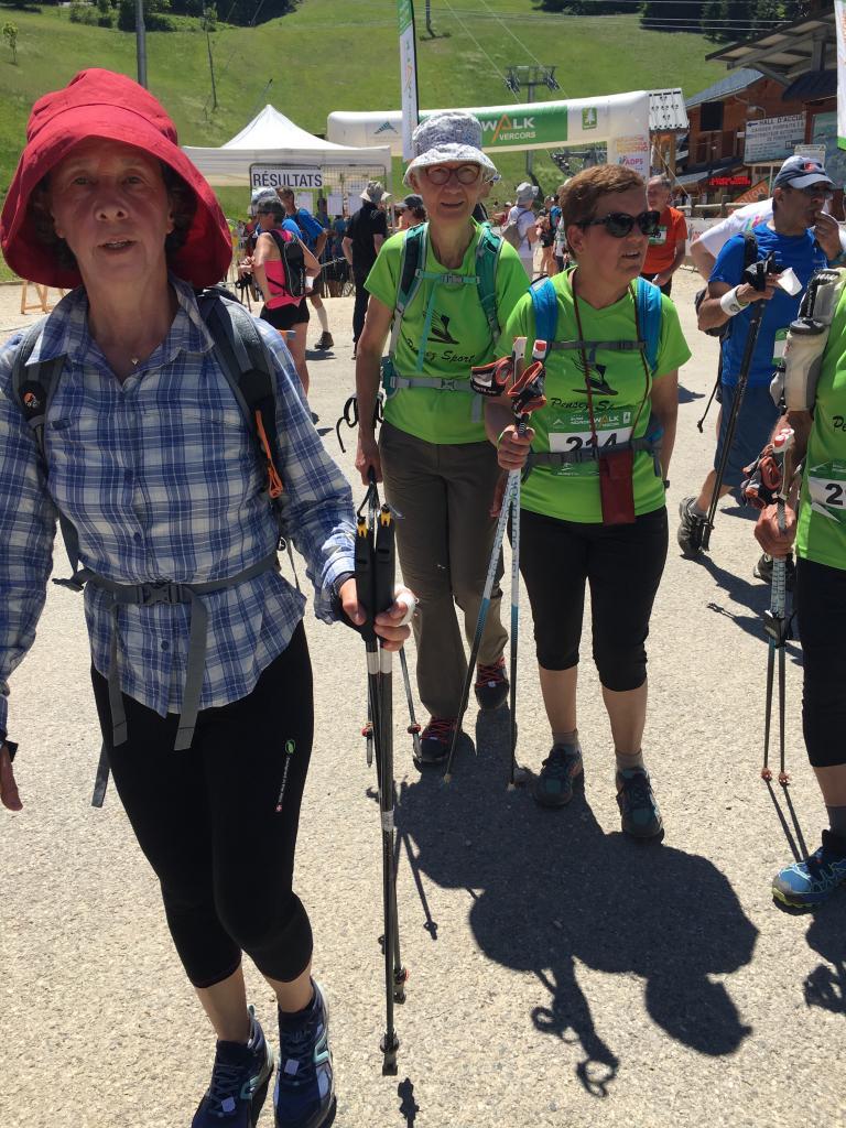 Euro Nordic Walk 2017 15 km Arrivée