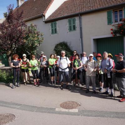 Marche à Nantoux Mai 17