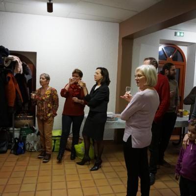 19 janvier 2018, soirée conviviale à Pouilly en Auxois